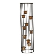 Caged 10 Tealight Holder 69.5cm