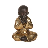 Gold Speak No Evil Buddha 22cm