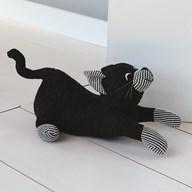 Black Cat Doorstop 29cm