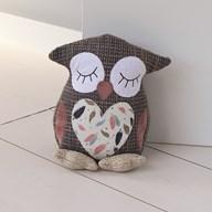 Brown Owl Doorstop 22cm