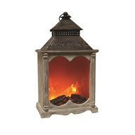 LED Fireplace Lantern 55cm