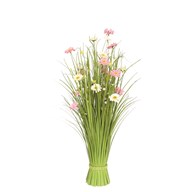 Grass Bundle Mixed Flowers 70cm
