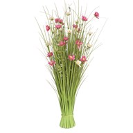 Grass Bundle Mixed Flowers 100cm