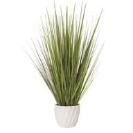 Grass Bundle White Pot 69cm