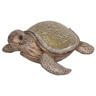 Mosaic Deco Turtle Gold 26cm