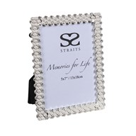 """Silver Plated Pearl Frame 5x7"""""""
