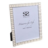 """Silver Plated Pearl Frame 8x10"""""""
