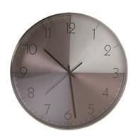 Wall Clock Metallic Effect 40cm