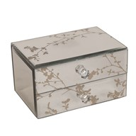 Decorative 2 Drawer Jewellery Box 15 x 8cm