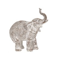 Decorative Etched Elephant 22cm