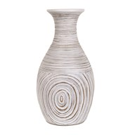 Decorative Etched Vase 34cm