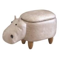 Hippo Storage Footstool 63cm