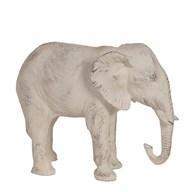 Elephant White 23cm