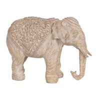 Etched Elephant Beige 21cm