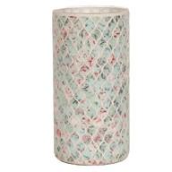 Floral Vase Blue 25cm