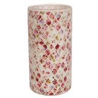 Floral Vase Red 25cm