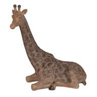 Sitting Giraffe Figurine 29cm