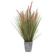Floral Grass in Embossed Pot 82cm