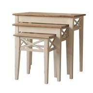 Cotswold Set of 3 Nesting Tables 65cm/55cm/46cm