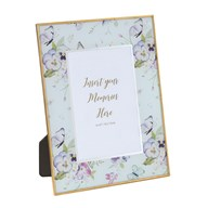 Photoframe Butterfly Floral 4x6""