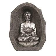 Silver Praying Buddha 28.5cm