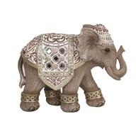 Decor Wood Elephant 15x12cm