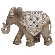 Decor Wood Elephant 22x17cm
