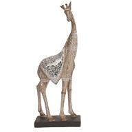Standing Giraffe On Base 40.5cm