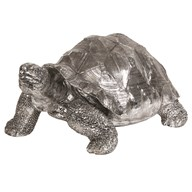 Decorative Tortoise Silver 54cm
