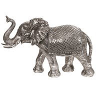 Decorative Elephant Silver 77cm