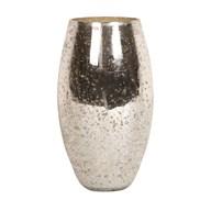 Mercury Crackled Vase 26cm