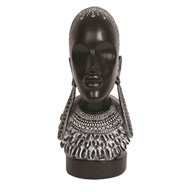 African Lady Bust 29cm