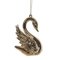 Swan Tree 10.5cm Gold