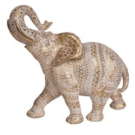 Decorative Gold Elephant 38.5cm