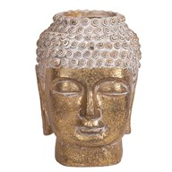 Buddha Head Planter 16x22cm