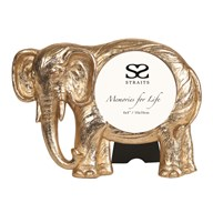 Gold Elephant Photoframe 4x4""