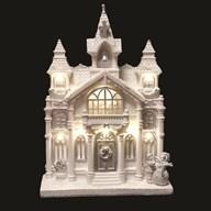 LED White Church 20x29cm