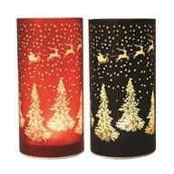 LED Reindeer 21cm 2 Assorted