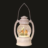 LED Robin Lantern White