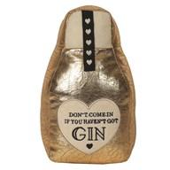 Gin Doorstop