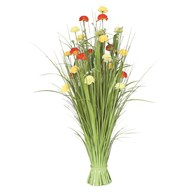 Grass Floral Bundle Carnation 100cm