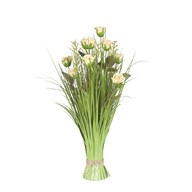 Grass Floral Bundle Rose 70cm