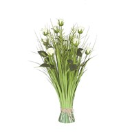 Grass Floral Bundle Rose 70cm