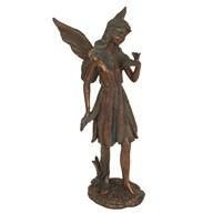 Stood Fairy Figurine in Bronze Finish 18cm