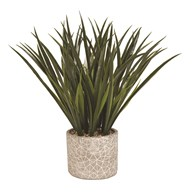 Artificial Grass Decorative Pot 40cm