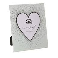 Heart Glass Photoframe 5x7