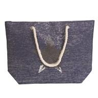 Star Beach Bag Blue 38x40cm