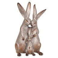 Decorative Rabbit Couple 30cm