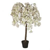 LED White Blossom Tree 120cm