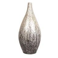 Silver & Grey Capiz Vase 62cm